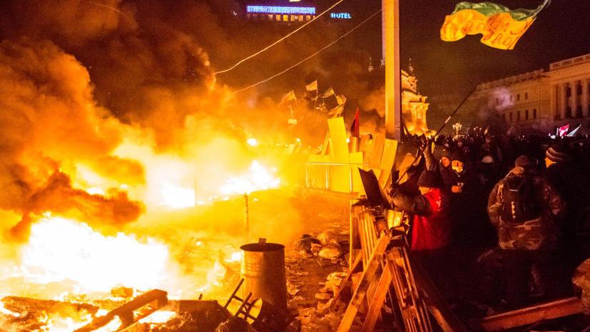 Как это было: год назад на киевском Майдане начались первые столкновения