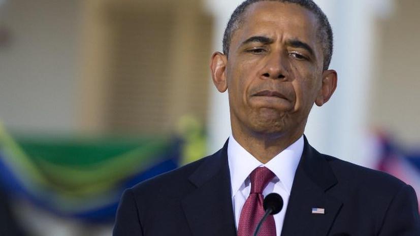 СМИ: Прошедшая неделя стала для Обамы одной из худших