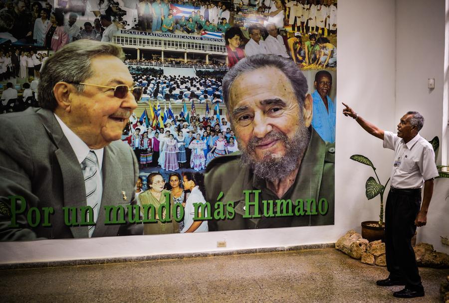 Фидель Кастро: Рауль с  достоинством поприветствовал Обаму