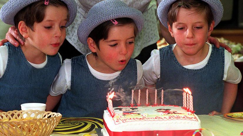 Австралийские власти запретили детям задувать свечи на торте