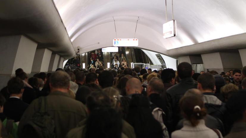 На Серпуховско-Тимирязевской линии метро снова произошёл сбой