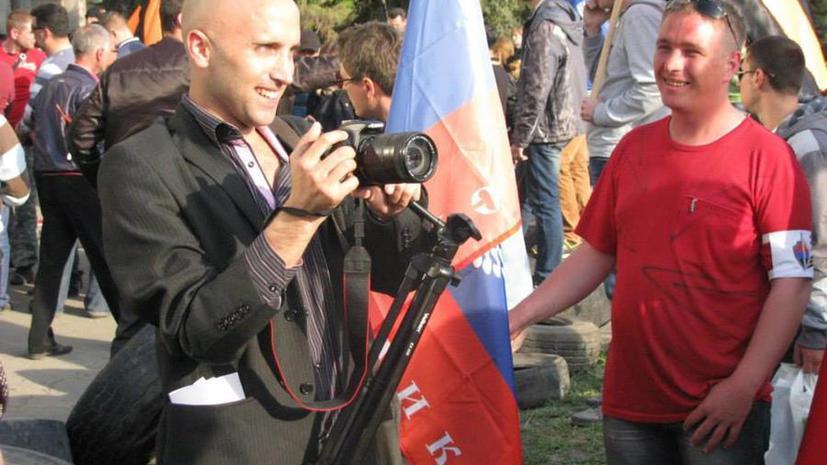 В МИД РФ настаивают на немедленном освобождении внештатного журналиста RT, взятого в плен на Украине
