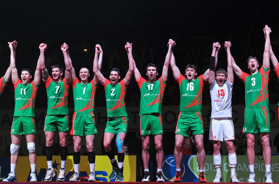 Новосибирский «Локомотив» стал победителем волейбольной Лиги чемпионов