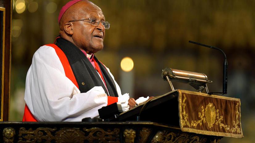 Лучше поздно: Архиепископ Десмонд Туту обратился к Обаме с просьбой извиниться за войну в Ираке