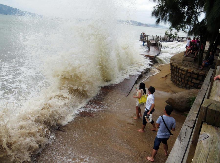 Тайфун Усаги унёс жизни 25 человек в южном Китае