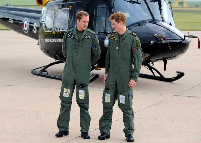 Принцы Великобритании: один спасает жизни, другой «убивает невинных»