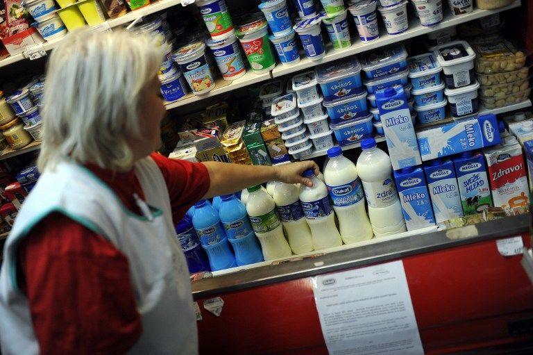 На Балканах изымают из продажи смертельно опасное молоко