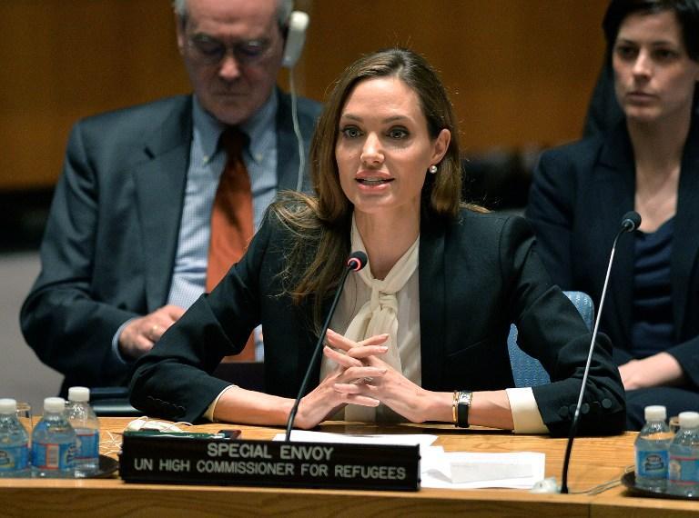Джоли призвала ООН бороться с сексуальным насилием в зонах боевых действий