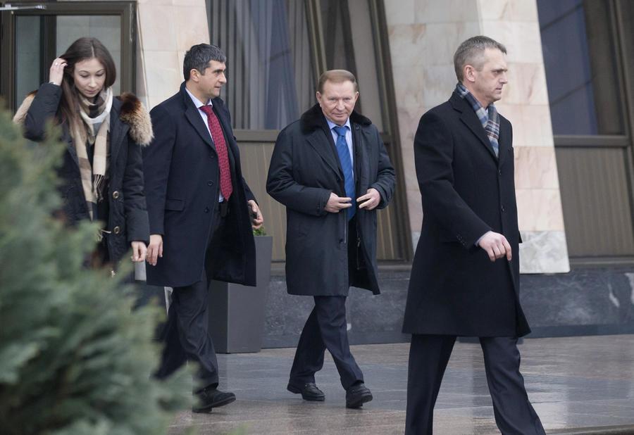 В Минске состоялись переговоры контактной группы по ситуации на Украине