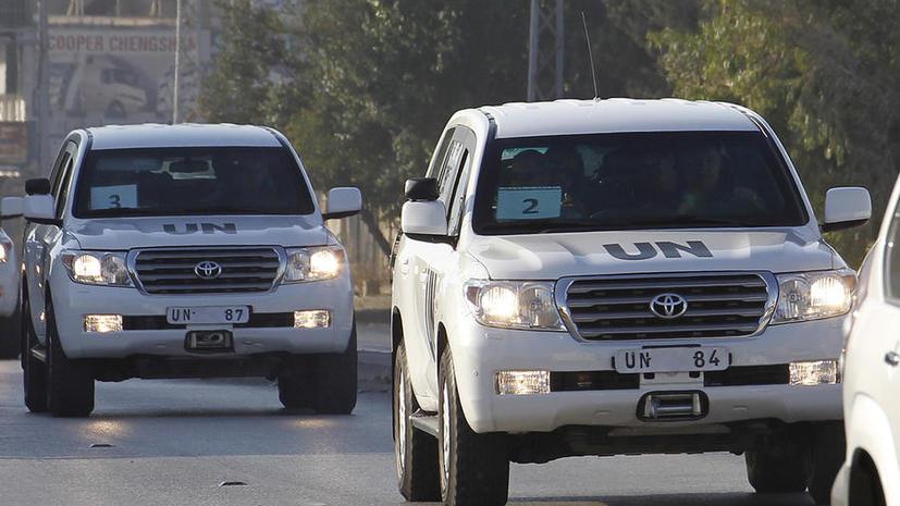 ОНН: Эксперты по химоружию могут вернуться в Сирию для завершения работ