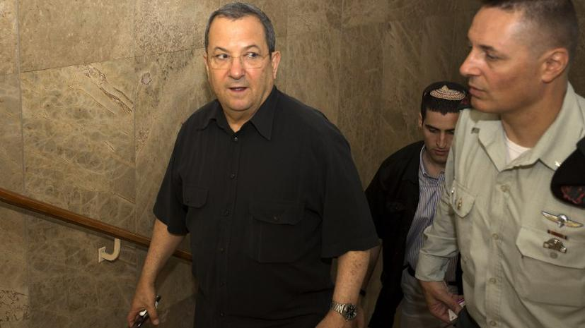 Министр обороны Израиля Эхуд Барак уходит из политики