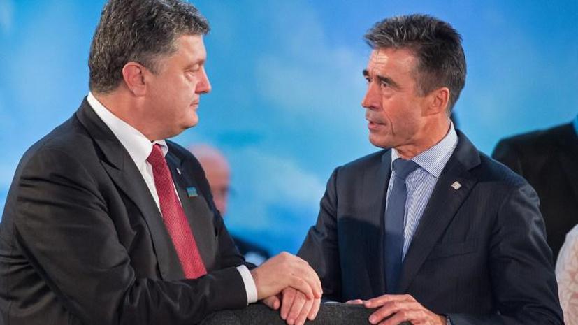 Пётр Порошенко: НАТО предоставит Украине помощь в виде поставок летального и нелетального снаряжения