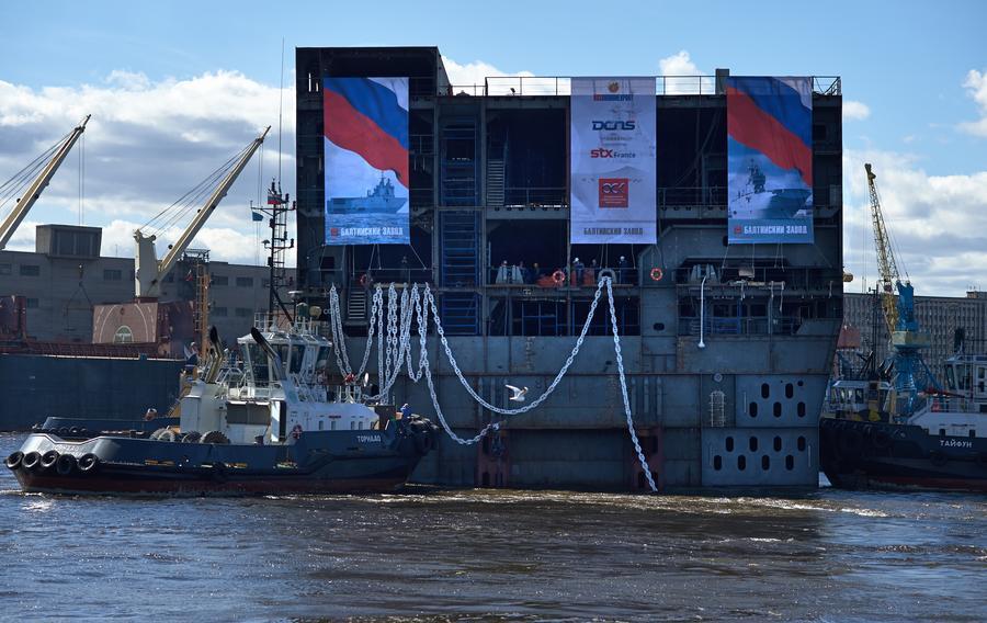 Судостроительная компания: Россия может получить первый «Мистраль» уже 14 ноября