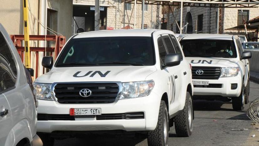 Представитель ООН: Расследование химатаки под Дамаском носило ограниченный характер