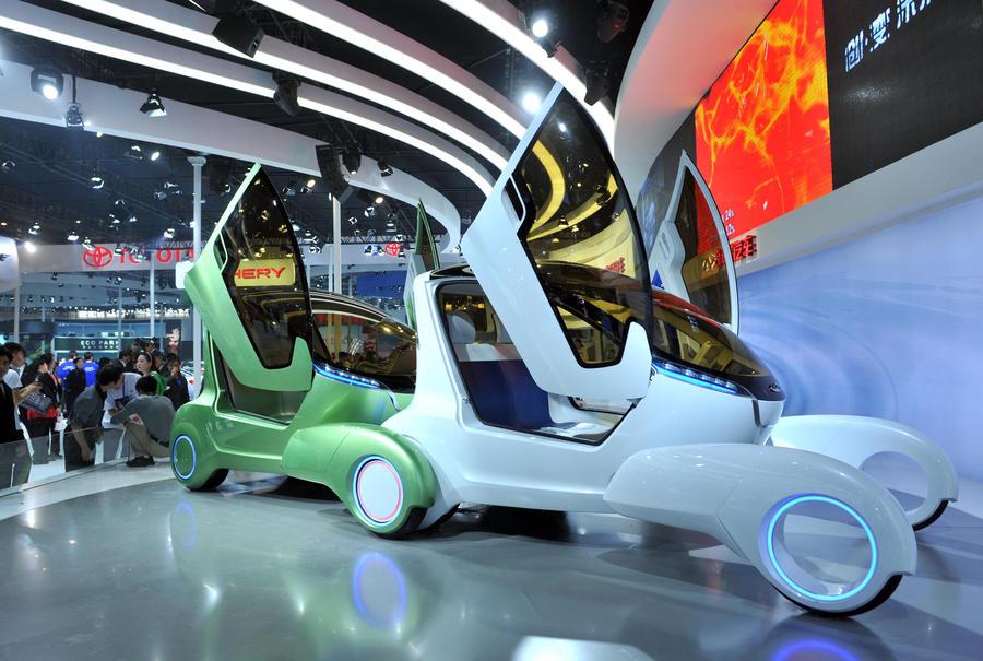 Chery представила второе поколение «муравьев» на Шанхайском автосалоне