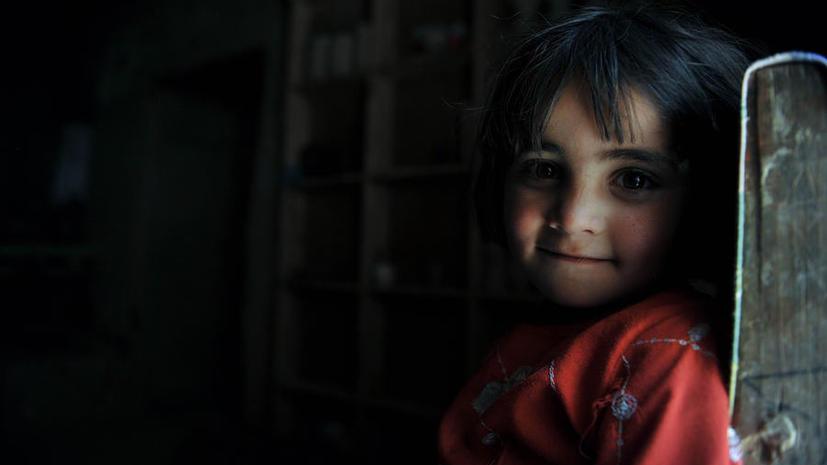 Восьмилетняя девочка с «поясом шахида» задержана в Афганистане