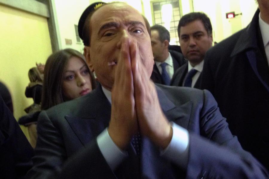 Сильвио Берлускони получил год тюрьмы за раскрытие конфиденциальной информации