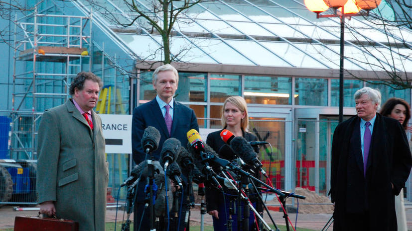 Эквадор согласился обсудить со Швецией возможность допроса Джулиана Ассанжа в посольстве в Лондоне
