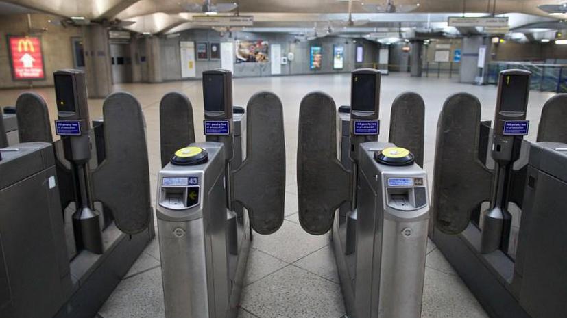 Забастовка работников метрополитена вызвала хаос на улицах Лондона