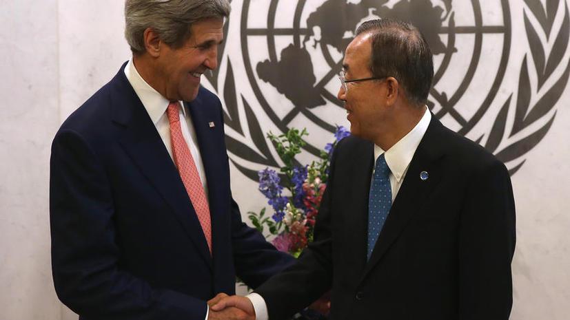 Называя Палестину страной, Джон Керри не пытался признать её государством