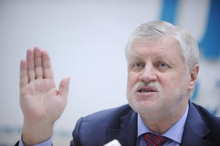 Сергей Миронов предложил исключить Геннадия и Дмитрия Гудковых из «Справедливой России»