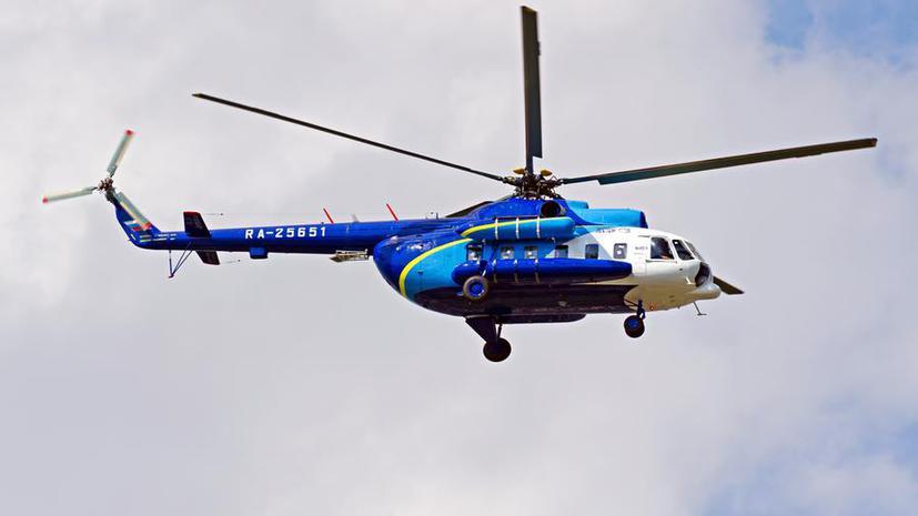 Спасатели обнаружили и подняли из воды тела всех погибших при крушении Ми-8 на Дальнем Востоке