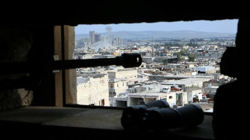 Сирийские боевики обстреляли деловой центр Алеппо и взорвали две бомбы под Хомсом
