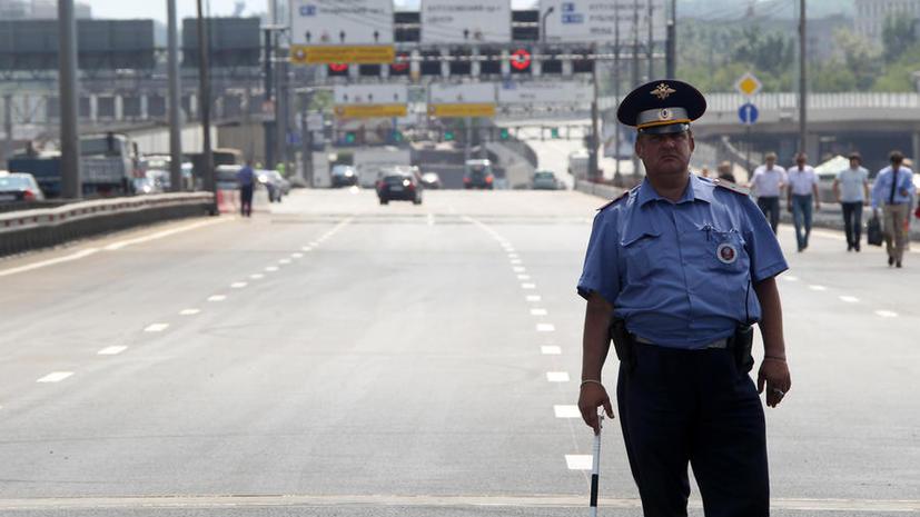 На Волоколамском шоссе появились камеры, фиксирующие нарушения на стоп-линии