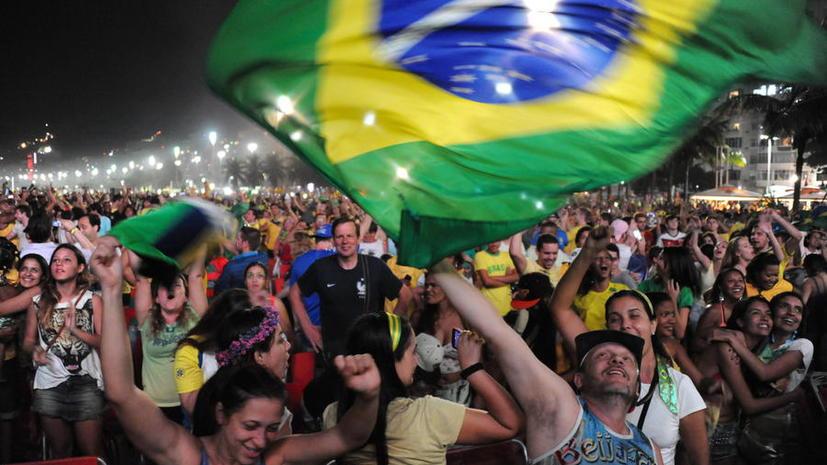 ЧМ-2014: В полуфинальном матче бразильцы сразятся с немцами