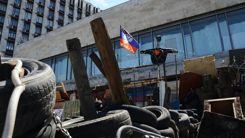 Задержанные в Донецке сотрудники Красного Креста отпущены