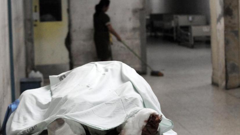 В результате пожара в психиатрической лечебнице погиб человек