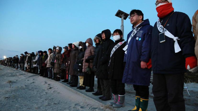 В Японии проходят акции протеста в преддверии годовщины аварии на Фукусиме