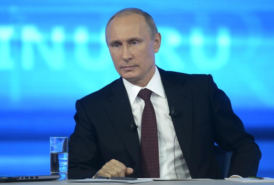 СМИ: Россияне спросят у Владимира Путина про курс рубля, санкции Запада и ситуацию на Украине