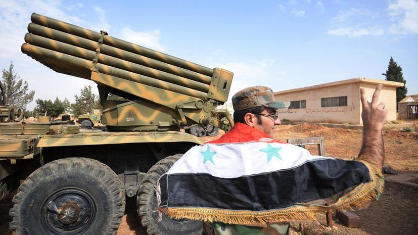 ВС Сирии продолжают освобождать страну от террористов ИГ