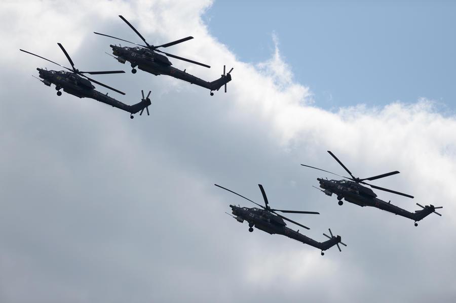 СМИ: Партия из 13 российских вертолётов Ми-28НЭ «Ночной охотник» прибыла в Ирак