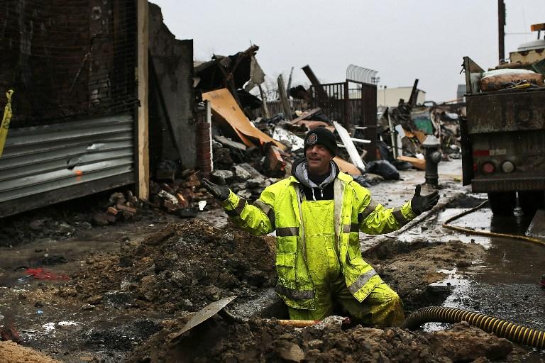 Жертвы урагана «Сэнди» заплатят за свет, которого не было