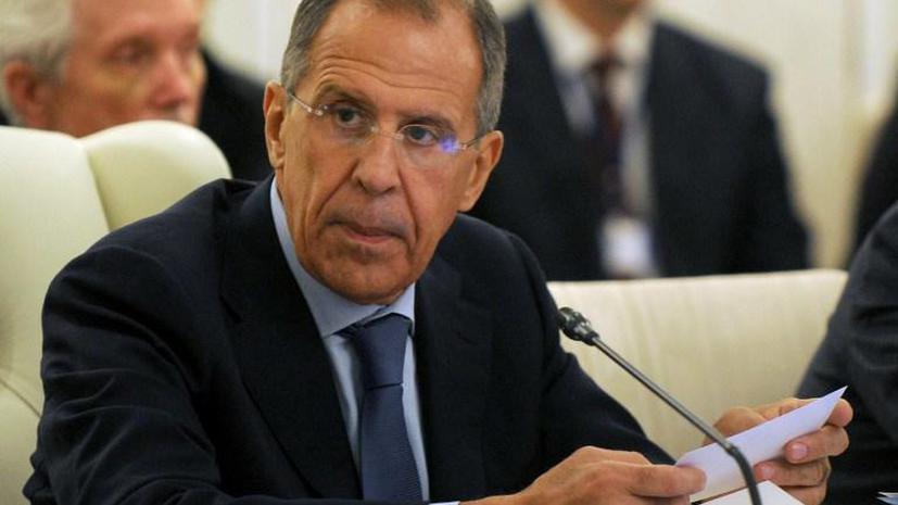 Сергей Лавров: Точка невозврата в отношениях с Западом ещё не пройдена