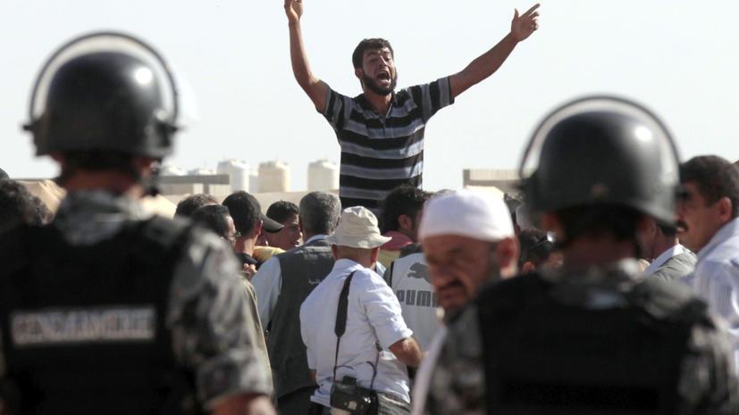 Более 100 иорданцев могут попасть в тюрьму за антиправительственные лозунги
