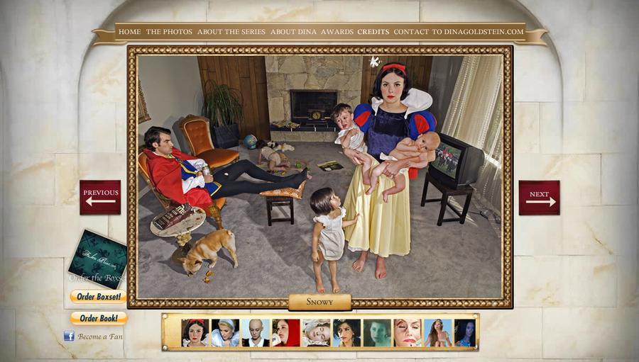 Проект «Падшие принцессы»: фотограф раскрыла горькую правду жизни героинь сказок