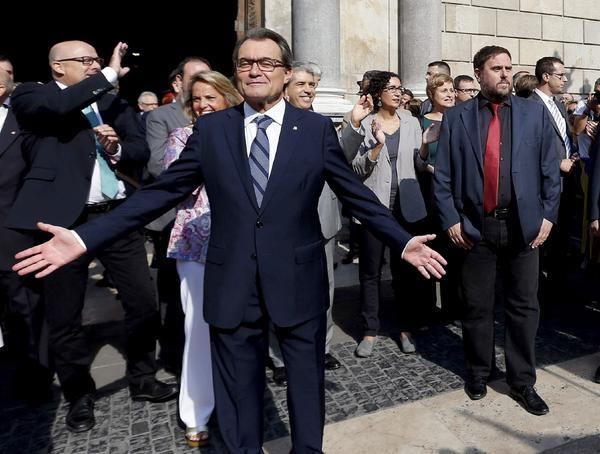 Референдум о независимости Каталонии назначен на 9 ноября