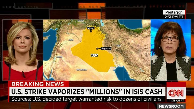 CNN: Коалиция во главе с США разрушила финансовый центр ИГ ценой жертв среди мирного населения