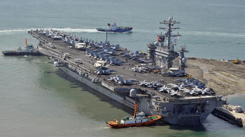 США сосредоточили в районе Персидского залива два авианосца
