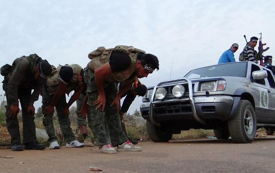 Сирийские боевики просят у Запада российское оружие