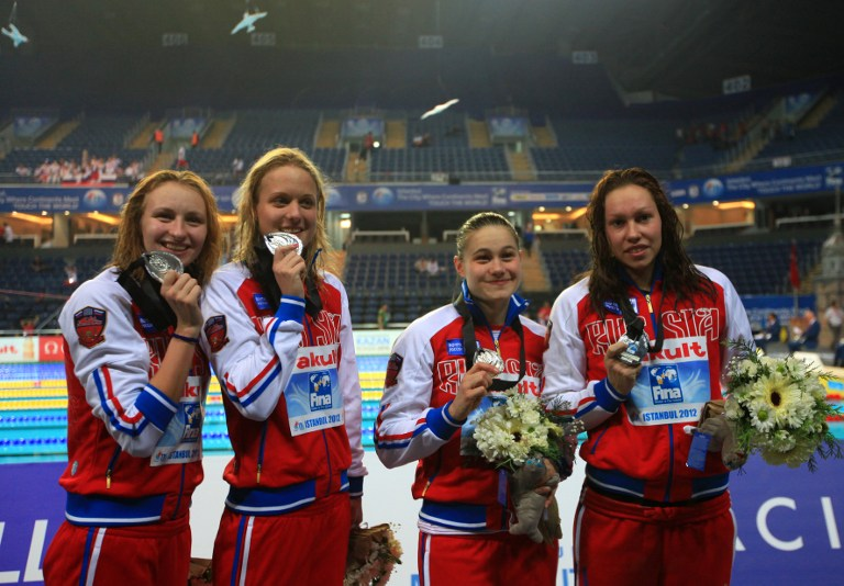 Россия заняла пятое место на Чемпионате мира по плаванию на короткой воде