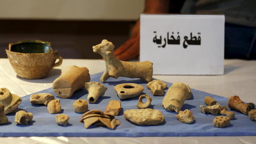 Вывезенные террористами ИГ предметы древности из Сирии продают с молотка на Западе