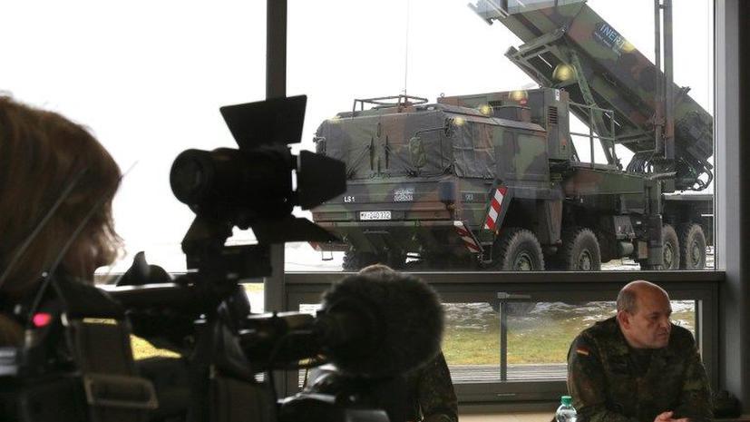 Первая батарея Patriot на границе Сирии и Турции заступила на боевое дежурство