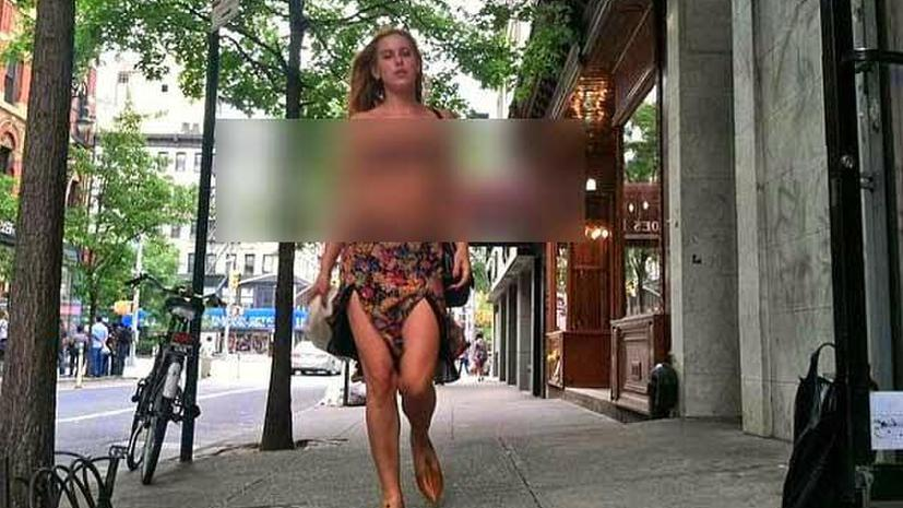 Дочь Брюса Уиллиса прошлась по Нью-Йорку топлесс