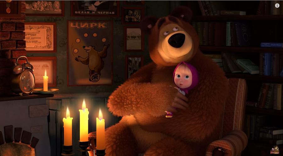 Наша Маша: Американские СМИ назвали российский мультфильм «Маша и Медведь» классикой будущего