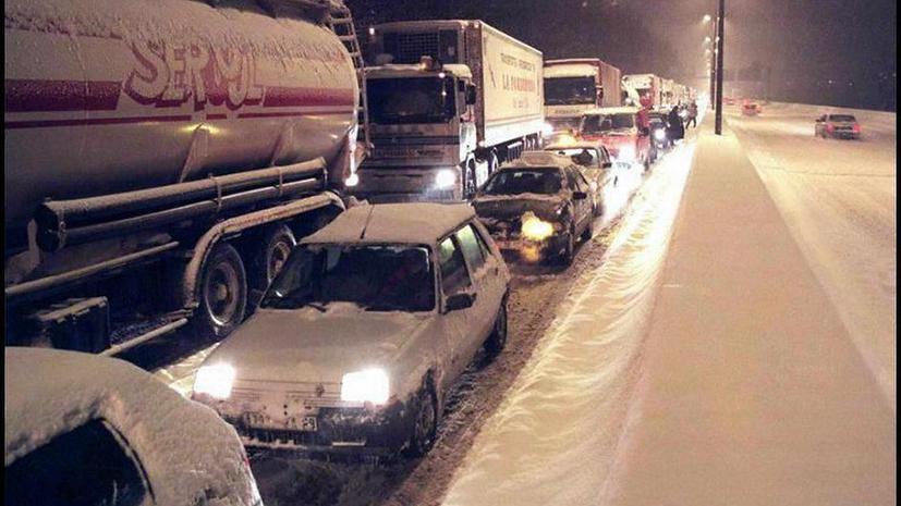 ГИБДД:  Движение на трассе  М10 в Тверской области полностью восстановлено