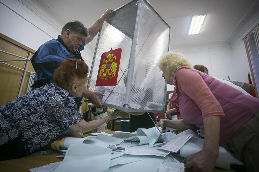 В России на выборах будут использовать прозрачные урны